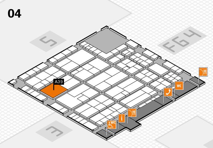 K 2016 Hallenplan (Halle 4): Stand A39