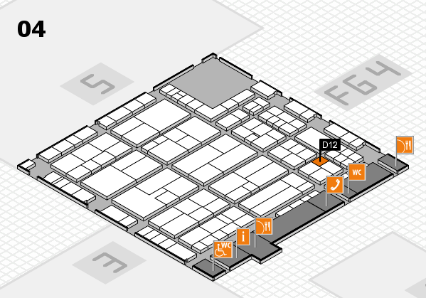 K 2016 Hallenplan (Halle 4): Stand D12