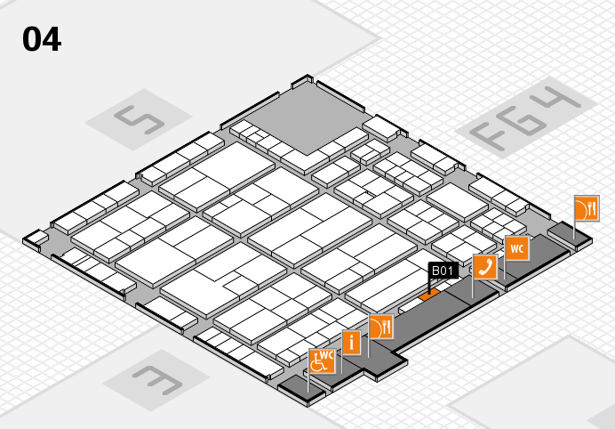 K 2016 Hallenplan (Halle 4): Stand B01