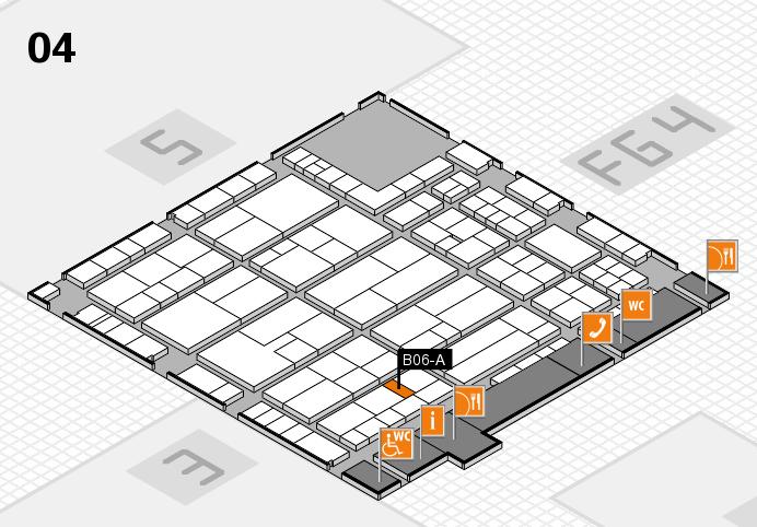 K 2016 Hallenplan (Halle 4): Stand B06-A