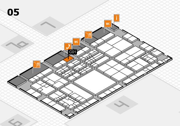 K 2016 Hallenplan (Halle 5): Stand C01