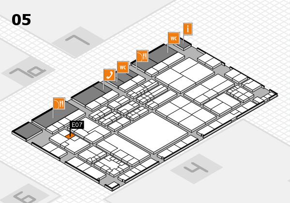 K 2016 Hallenplan (Halle 5): Stand E07