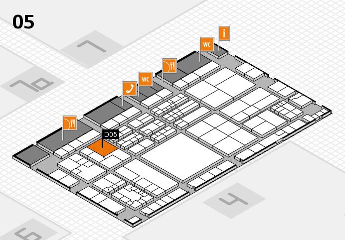 K 2016 Hallenplan (Halle 5): Stand D05