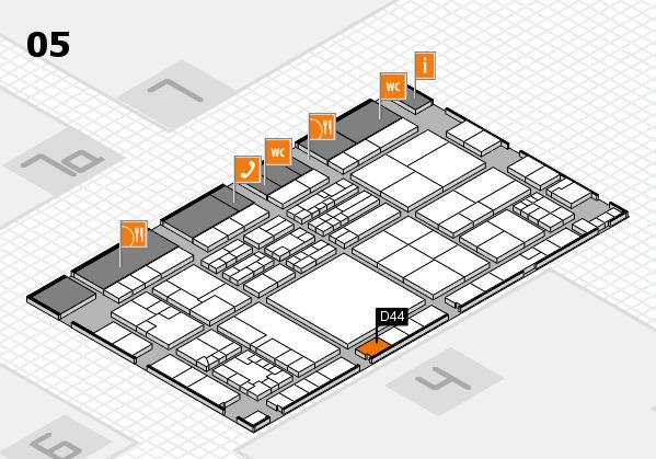 K 2016 Hallenplan (Halle 5): Stand D44