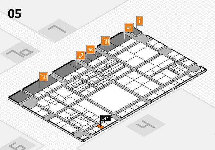 K 2016 Hallenplan (Halle 5): Stand E41
