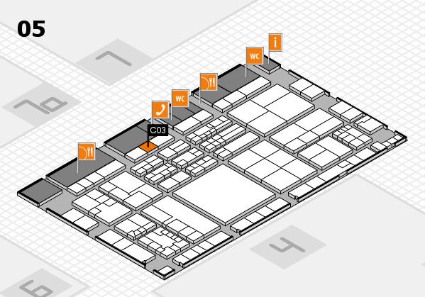 K 2016 Hallenplan (Halle 5): Stand C03