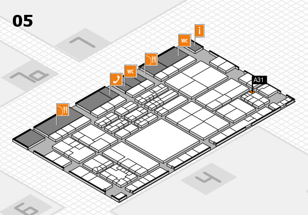 K 2016 Hallenplan (Halle 5): Stand A31