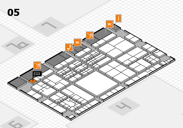 K 2016 Hallenplan (Halle 5): Stand E03