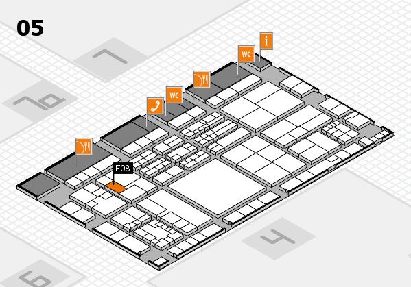 K 2016 Hallenplan (Halle 5): Stand E08