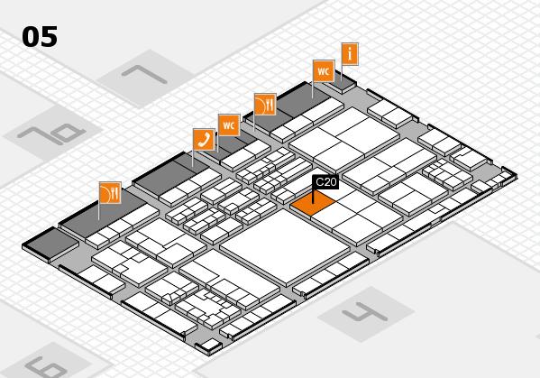 K 2016 Hallenplan (Halle 5): Stand C20