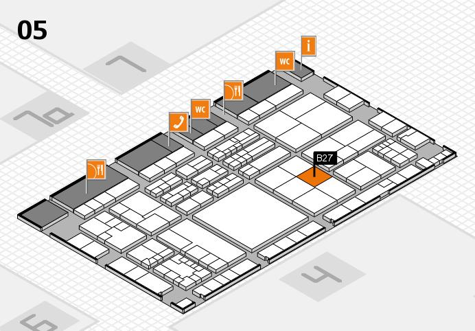 K 2016 Hallenplan (Halle 5): Stand B27