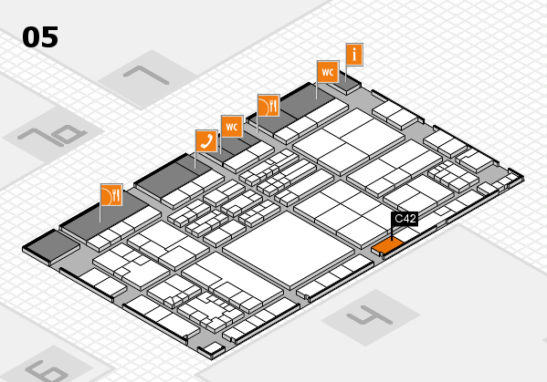 K 2016 Hallenplan (Halle 5): Stand C42