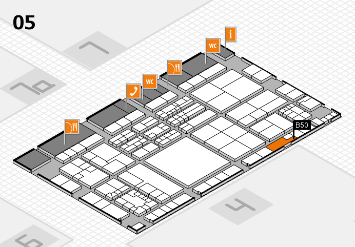 K 2016 Hallenplan (Halle 5): Stand B50
