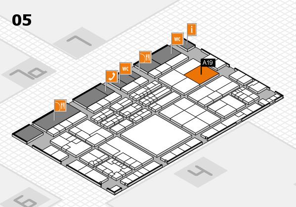 K 2016 Hallenplan (Halle 5): Stand A19