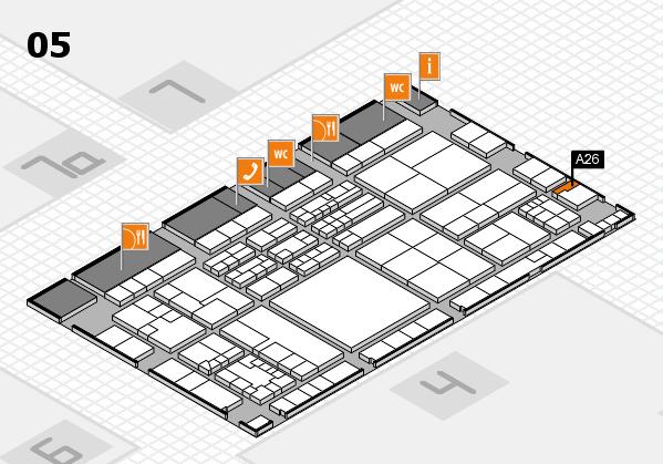 K 2016 Hallenplan (Halle 5): Stand A26