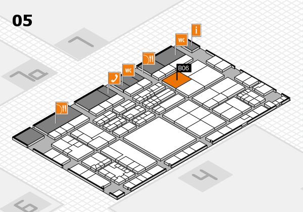 K 2016 hall map (Hall 5): stand B06
