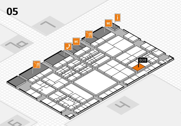 K 2016 Hallenplan (Halle 5): Stand B38