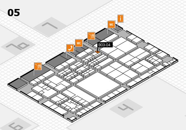 K 2016 Hallenplan (Halle 5): Stand B03-04