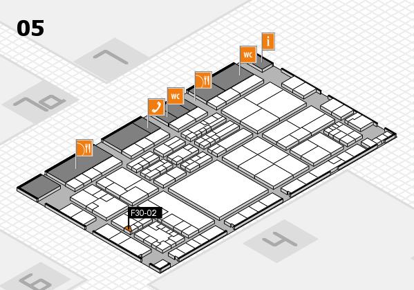 K 2016 Hallenplan (Halle 5): Stand F30-02