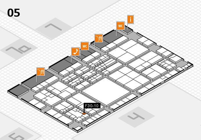 K 2016 Hallenplan (Halle 5): Stand F30-10