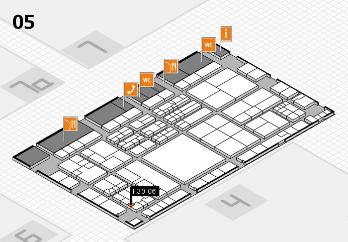 K 2016 hall map (Hall 5): stand F30-06