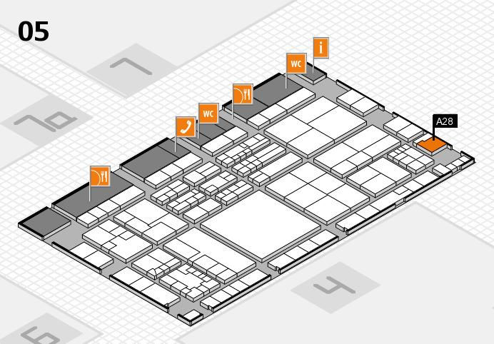 K 2016 Hallenplan (Halle 5): Stand A28