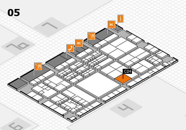 K 2016 Hallenplan (Halle 5): Stand C24