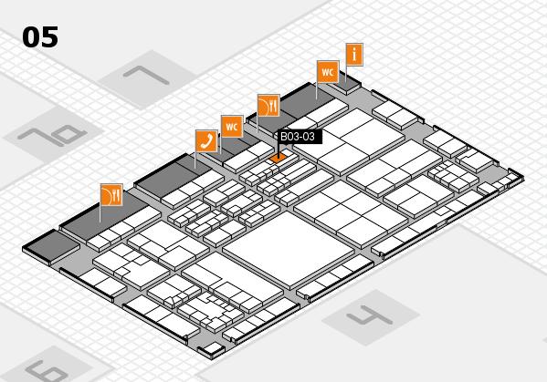 K 2016 Hallenplan (Halle 5): Stand B03-03
