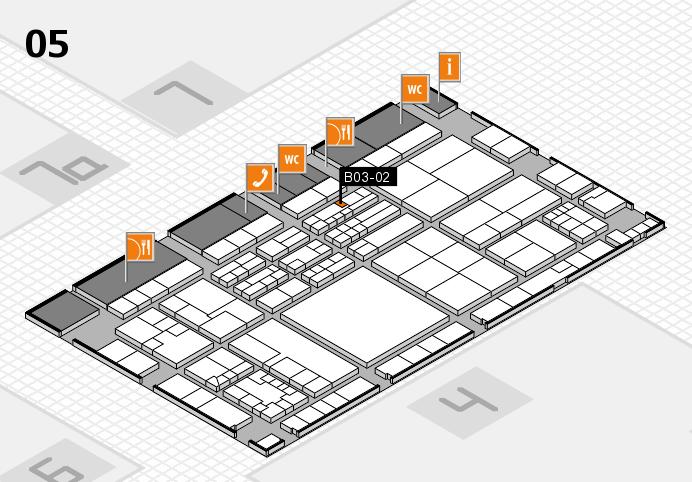 K 2016 Hallenplan (Halle 5): Stand B03-02