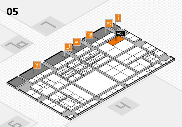 K 2016 Hallenplan (Halle 5): Stand A05