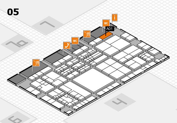 K 2016 Hallenplan (Halle 5): Stand A01