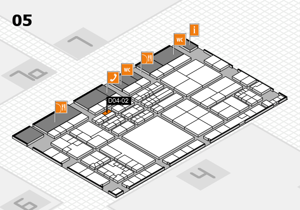 K 2016 Hallenplan (Halle 5): Stand D04-02