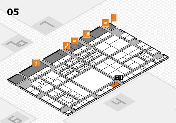 K 2016 Hallenplan (Halle 5): Stand C41