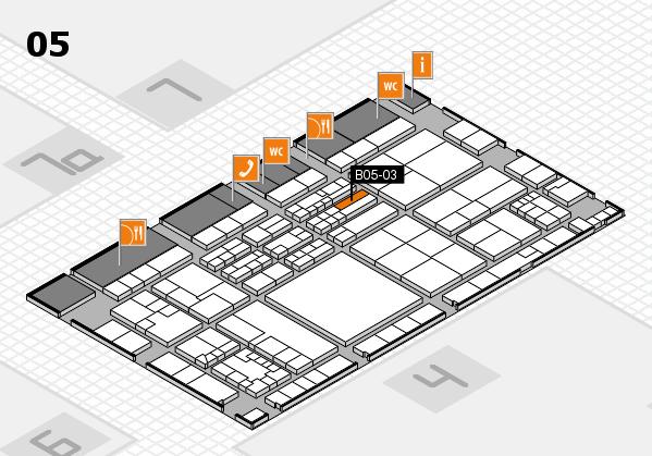 K 2016 Hallenplan (Halle 5): Stand B05-03