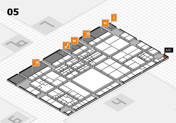 K 2016 Hallenplan (Halle 5): Stand A30