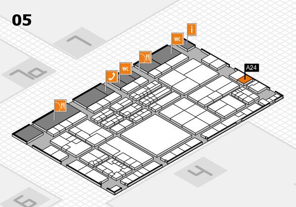 K 2016 Hallenplan (Halle 5): Stand A24