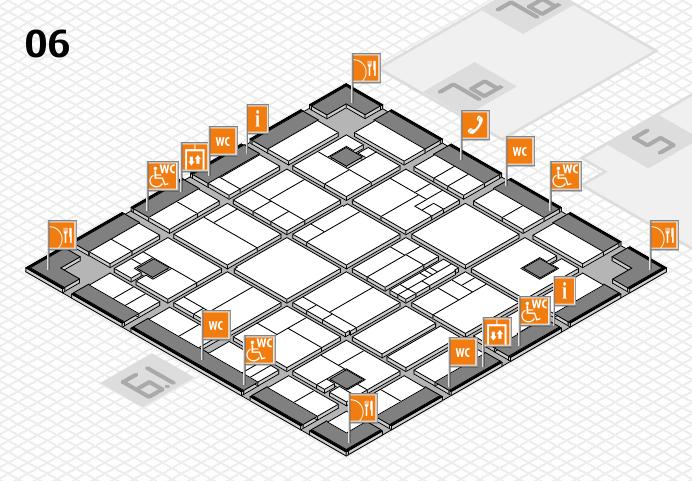 K 2016 hall map (Hall 6): stand A75-1+A75-3