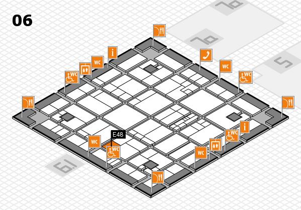 K 2016 hall map (Hall 6): stand E48