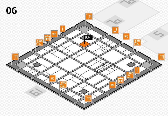 K 2016 hall map (Hall 6): stand B24