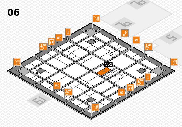 K 2016 hall map (Hall 6): stand C52