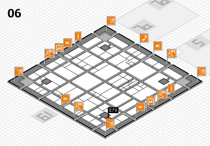 K 2016 hall map (Hall 6): stand E79