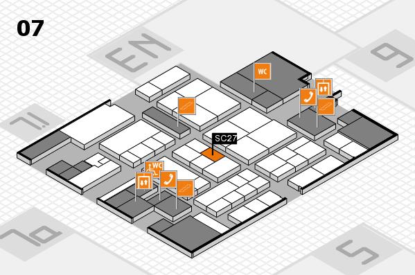 K 2016 hall map (Hall 7): stand SC27
