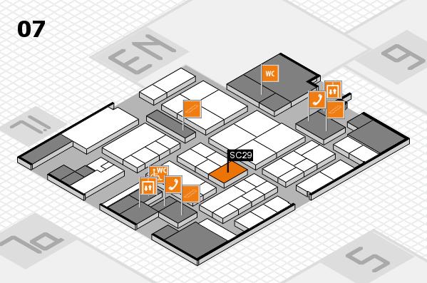 K 2016 hall map (Hall 7): stand SC29