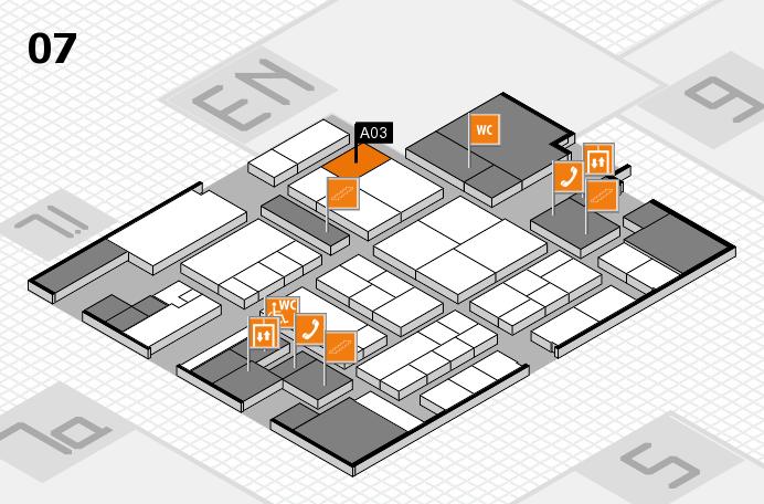 K 2016 Hallenplan (Halle 7): Stand A03