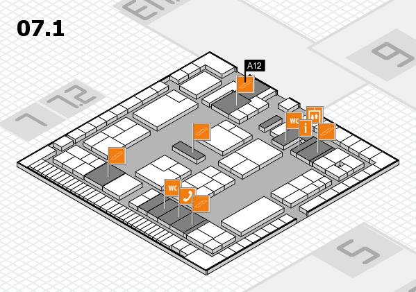 K 2016 Hallenplan (Halle 7, Ebene 1): Stand A12
