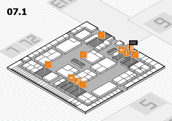 K 2016 Hallenplan (Halle 7, Ebene 1): Stand A30