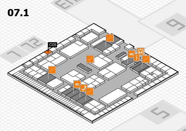K 2016 Hallenplan (Halle 7, Ebene 1): Stand C05