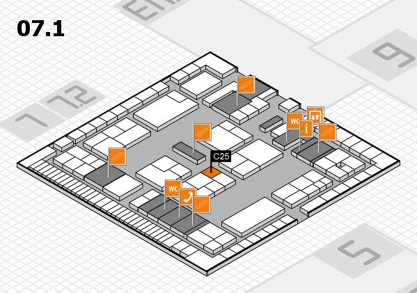 K 2016 Hallenplan (Halle 7, Ebene 1): Stand C25