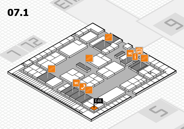 K 2016 Hallenplan (Halle 7, Ebene 1): Stand E48