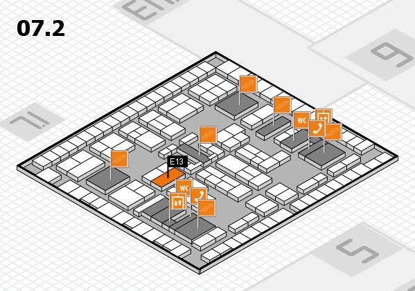 K 2016 Hallenplan (Halle 7, Ebene 2): Stand E13